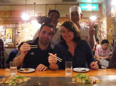 Restaurant Osaka Japon
