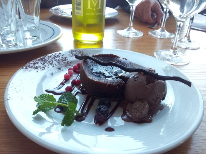 Coulant de Chocolat noir