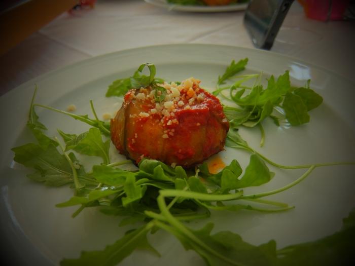 sformato di melanzane